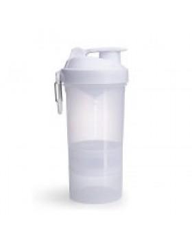 Smartshake Shaker πολλαπλών χρήσεων Original 2GO 600ml Pure White
