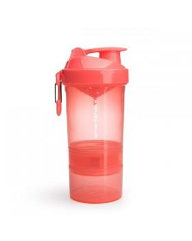 Smartshake Shaker πολλαπλών χρήσεων Original 2GO 600ml Caribbean Coral