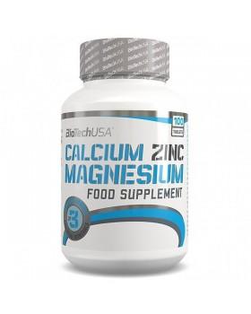 CALCIUM ZINC MAGNESIUM 100 tabs (BIOTECH USA)