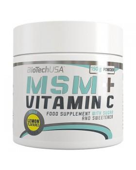 MSM + VITAMIN C 150 grams (BIOTECH USA)