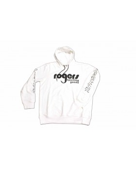 ROGERS Classic Goose Hoodie  White