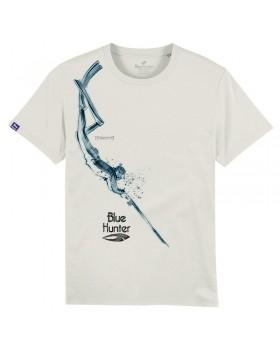 T-shirt HUNTERS DIVE white