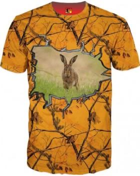 Must Hunt Μπλουζάκι 3D ΛΑΓΟΣ ORANGE
