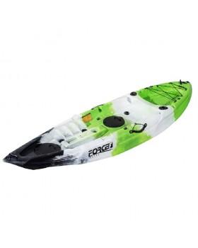 Fishing Kayak FORCE ANDARA SOT Ενός Ατόμου Πράσινο