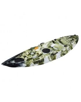 Fishing Kayak FORCE ANDARA SOT Ενός Ατόμου Χακί Παραλλαγής
