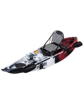 Fishing Kayak FORCE ANDARA SOT FULL Ενός Ατόμου Κόκκινο
