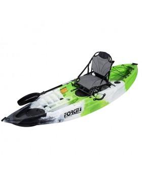 Fishing Kayak FORCE ANDARA SOT FULL Ενός Ατόμου Πράσινο