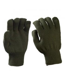 Γάντια πλεκτά στρατιωτικά (πετσετέ) λαδι