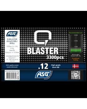 ΜΠΙΛΙΕΣ SOFT Q BLASTER 0.12g / 3300pcs