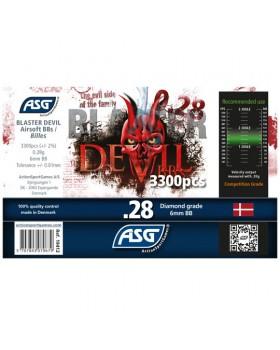 ΜΠΙΛΙΕΣ SOFT BLASTER DEVIL, 0.28g, 3300pcs