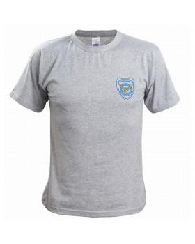 Μπλουζάκι με στάμπα ΠΟΛΕΜΙΚΗ ΑΕΡΟΠΟΡΙΑ ΓΚΡΙ