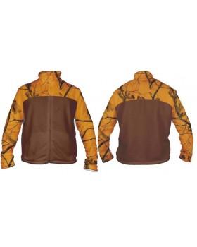 Ζακετα fleece orange 350g