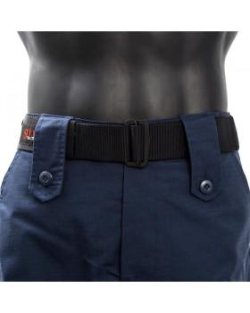 Ζώνη universal για τα επιχειρησιακά παντελόνια από ιμάντα αλεξιπτωτου ΜΑΥΡΟ
