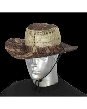 ΚΑΠΕΛΟ BOONIE Leaf Brown Mosquito Net
