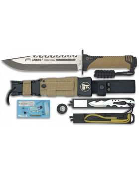 ΜΑΧΑΙΡΙ K25 Tactical Knife THUNDER I - SERIE ENERGY TAN