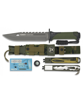 ΜΑΧΑΙΡΙ K25 Tactical Knife THUNDER I - SERIE ENERGY Πράσινο