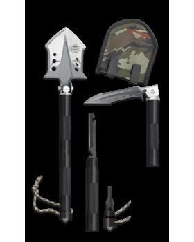 ΦΤΥΑΡΙ ΠΤΥΣΣΟΜΕΝΟ ALBAINOX Survival shovel. 48 cm 33100