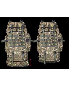 Σακίδιο πλάτης BARBARIC, Backpack. Camo, 60 lt, 34936-CP