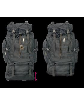 Σακίδιο πλάτης BARBARIC, Backpack. Black, 60 lt, 34936-NE