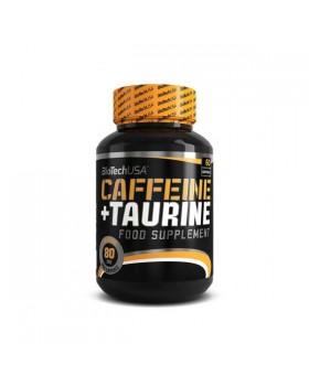 CAFFEINE + TAURINE 60caps (BIOTECH USA)