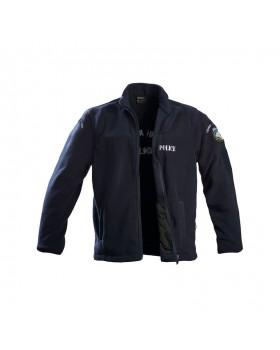 Ζακετα fleece Magnum με κέντημα Αστυνομίας ΜΠΛΕ
