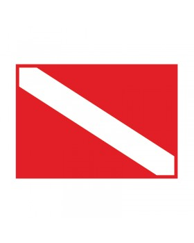 Σημαία Καταδυτική 35 Χ 50