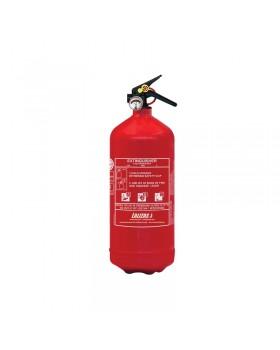 LALIZAS Πυροσβεστήρας Ξηράς Κόνεως 1kg, Πεπιεσμένος, με βάση, MED (EN,IT,GR)