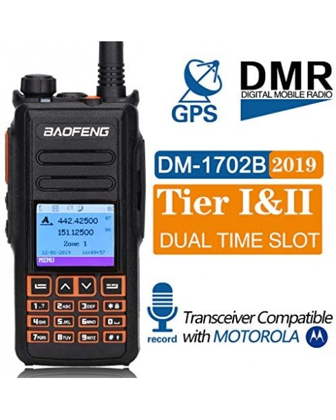 BAOFENG DM-X DMR VHF-UHF ΜΕ GPS