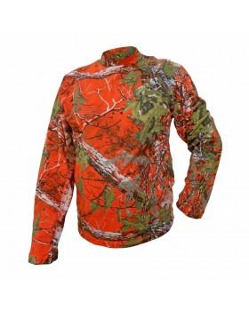 Μπλούζα Φούτερ Δάσους Camo Orange Α50
