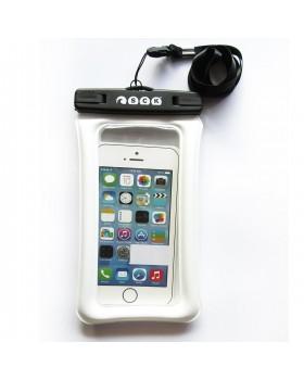 Αδιάβροχη θήκη κινητού που επιπλέει Άσπρη