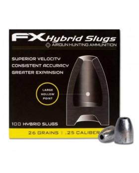 FX HYBRID SLUGS .25/100 (26.3 grains)