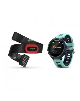Forerunner 735xt Midnight Blue& Frost Blue Run Bundle