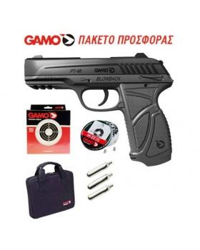 ΑΕΡΟΒΟΛΟ ΠΙΣΤΟΛΙ GAMO PT-85 / 4,5mm PROMO-PACK