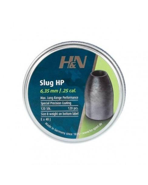 H & N SLUGS HP .25/.249/120 (28 grains)