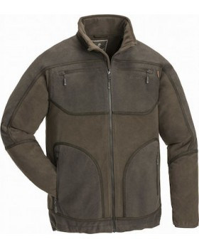 Αδιάβροχη Ζακέτα Fleece Pinewood Michigan Light Brown/Hunting Brown 5169-252