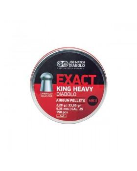 JSB KING HEAVY MKII .25/150 (34 grains)
