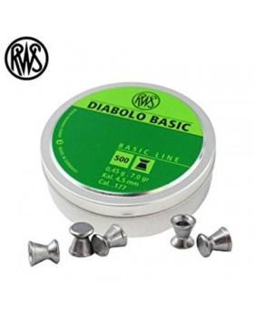 RWS DIABOLO BASIC .177/500 (7 grains)