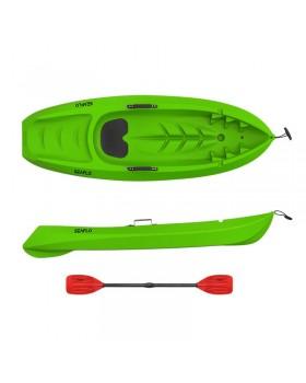Seaflo KID - Μονοθέσιο παιδικό καγιάκ με παιδικό κουπί - Πράσινο