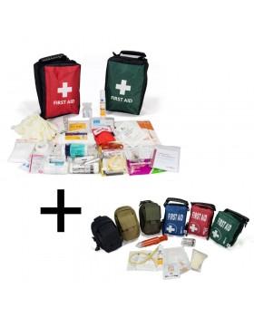 Συνδυασμός Φαρμακείων Α' Βοηθειών Κυνηγού & Δαγκώματος Φιδιών, Σκορπιών, Εντόμων χακι