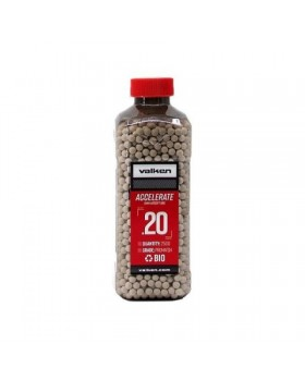 Valken Accelerate ProMatch 0.20g 2,500ct Biodegradable Airsoft BBs