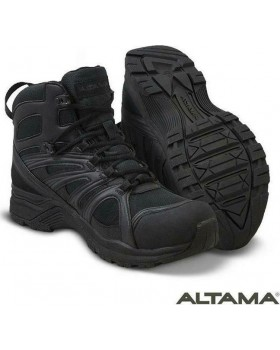 Altama Αboottabad Trail Mid WP Μαύρο