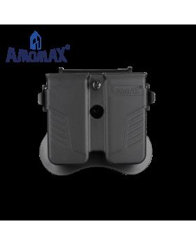 ΘΗΚΗ ΓΕΜΙΣΤΗΡΩΝ AMOMAX, Universal 9mm, .40, .45 Caliber, Single or Double Stack Magazines