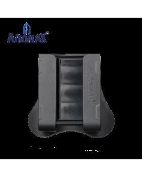 ΘΗΚΗ AMOMAX για Φυσιγγια Καραμπίνας, 4 Rounds 12GA Shotshells, Length 60mm to 76m