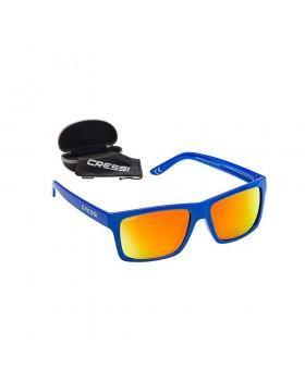 Cressi Bahia Sunglasses Royal Blue/Orange