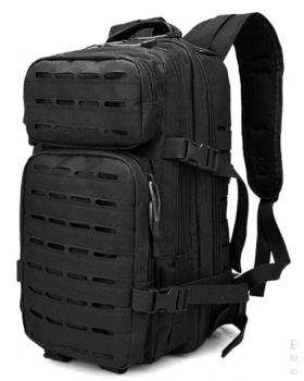 Σάκος Πλάτης Tactical 25 Λίτρων μαυρο