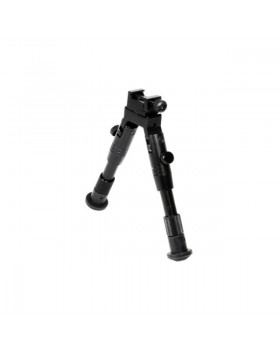"""UTG® Shooter's SWAT Bipod, Rubber Feet, 6.2""""-6.7"""" Center Height (TL-BP28S)"""