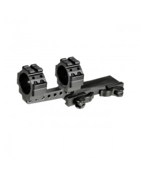 UTG® Integral 30mm Offset QD Mount, 2 Top Slots, 100mm Base (M3S40070R2)