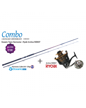 Combo Shore - Oceanic Team Harmonia + Ryobi Arctica 5000CF