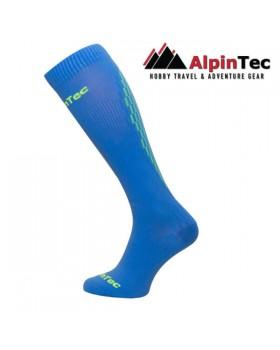 Κάλτσες Alpin Tec Professional High Compress Blue