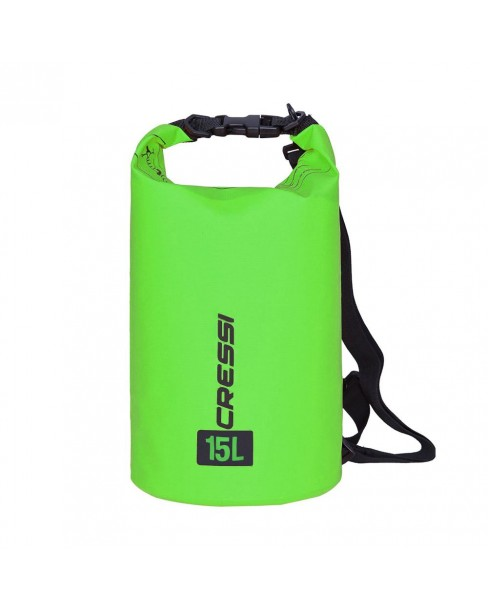 Cressi Dry Bag Green 15L